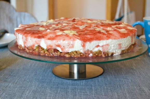 cheesecake-cranberry-sonntagskuchen