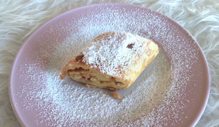 Süßer Ofen-Pfannkuchen
