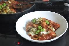 Gnocchi-Brokkoli-Auflauf