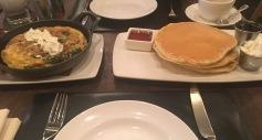 NYC-Frühstück-pancakes