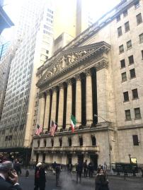 Gebäude der New York Stock Exchange